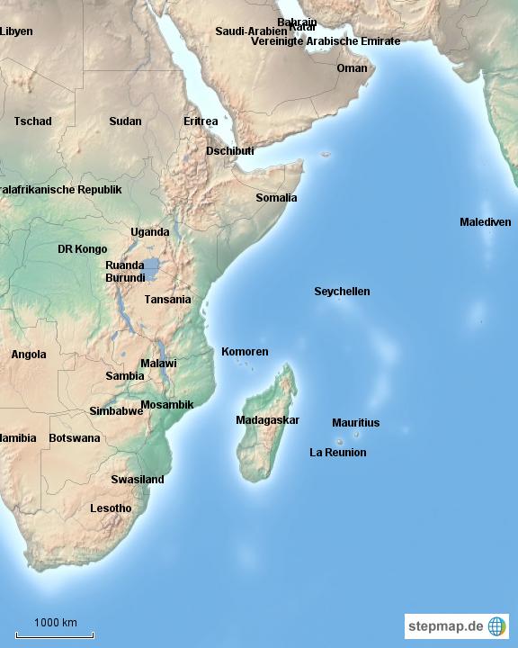 la reunion weltkarte StepMap   Lage von la Reunion   Landkarte für Deutschland la reunion weltkarte