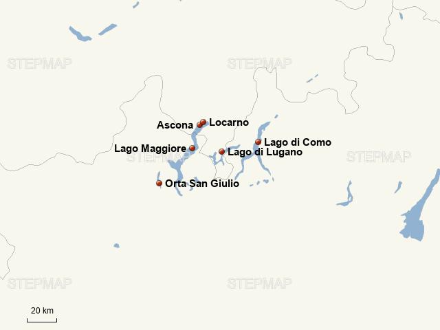 Lago Maggiore Karte.Stepmap Lago Maggiore Exklusiv Zachhera Hotels Landkarte
