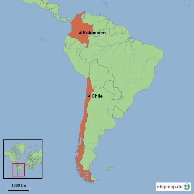 Chile Kolumbien