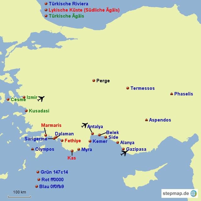 Karte Türkei.Stepmap Leere Türkei Karte Landkarte Für Türkei