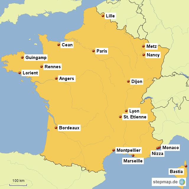 Ligue 1 Frankreich