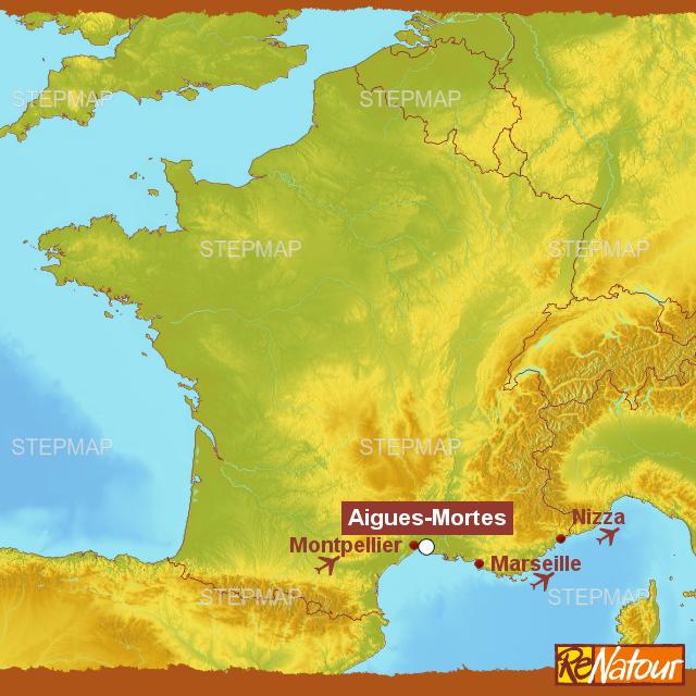 Camargue Karte.Stepmap Mas Familienurlaub In Der Camargue Mas Fonrouge