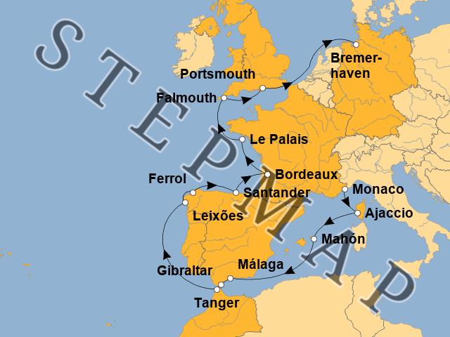Landkarte Europa 2021