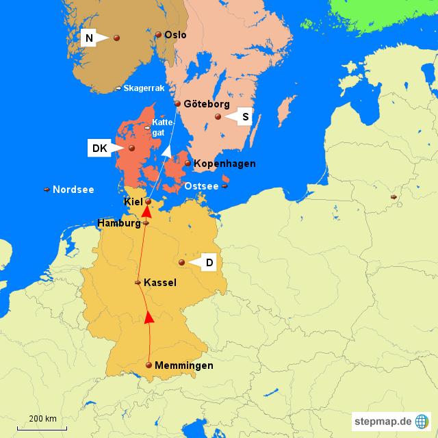 kiel landkarte deutschland StepMap   MM Kiel Göteb  Landkarte für Deutschland