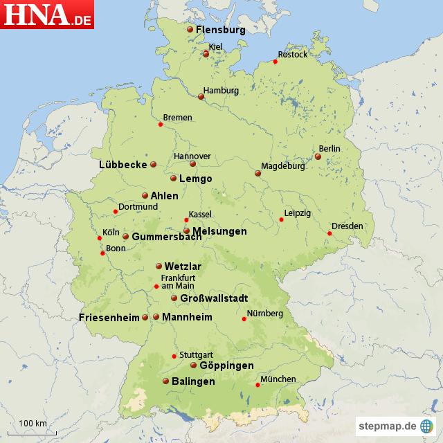 Karten Mt Melsungen