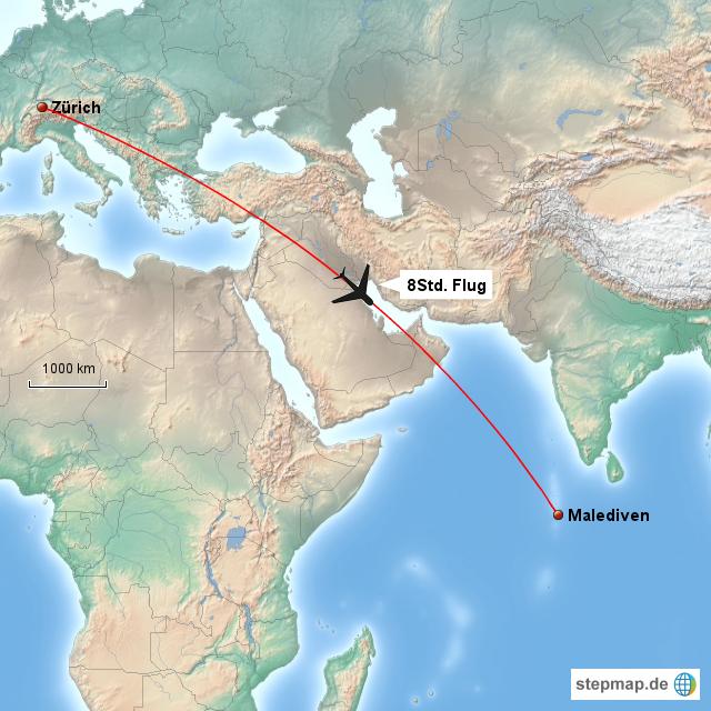 malediven landkarte StepMap   Malediven   Landkarte für Asien malediven landkarte
