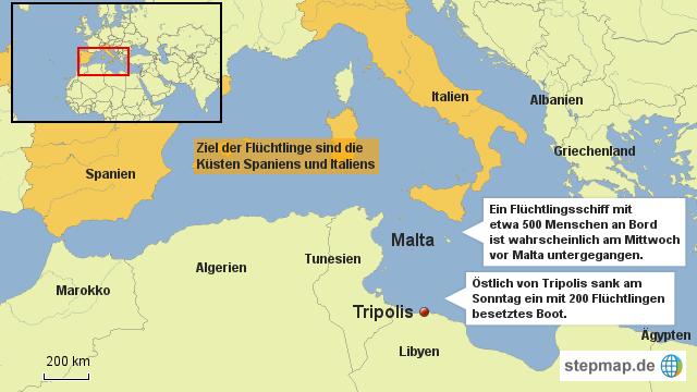 Mittelmeer Karte Inseln.Stepmap Malta Insel Mittelmeer Landkarte Fur Deutschland