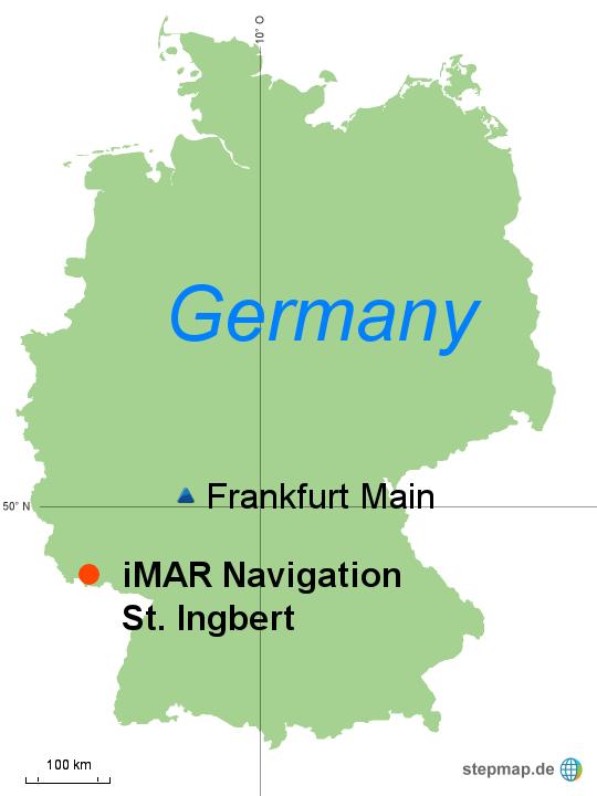 StepMap - Map Germany iMAR - Landkarte für Deutschland