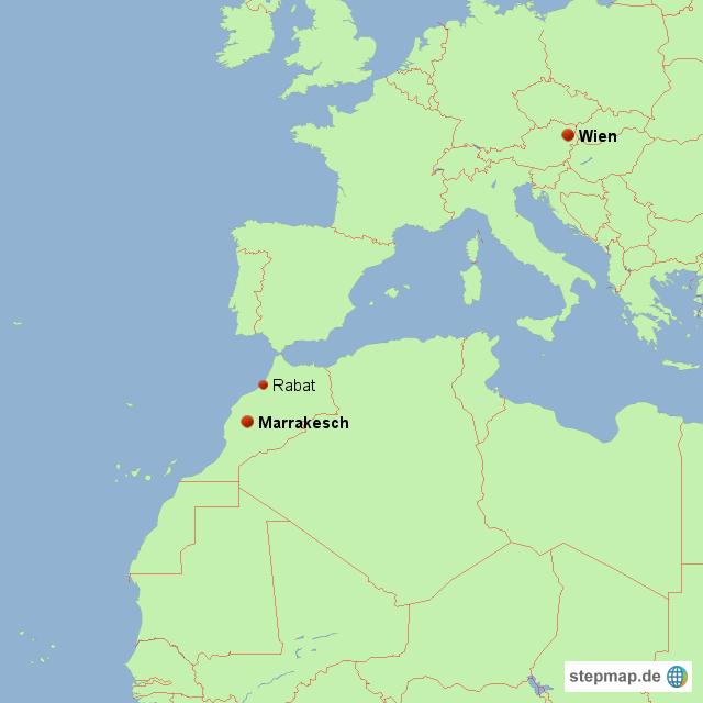 marrakesch karte StepMap   Marrakesch   Landkarte für Deutschland
