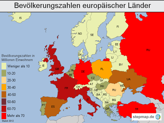 einwohner deutschlands