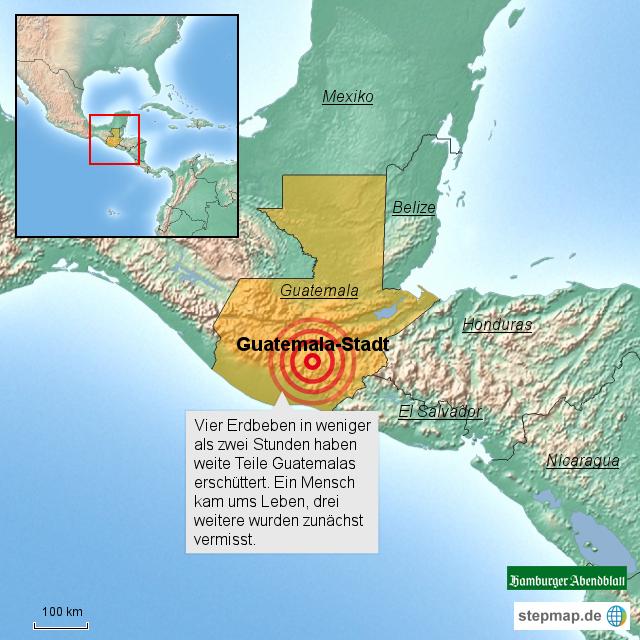 Guatemala Erdbeben