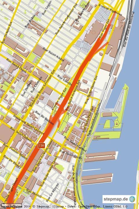 Montreal Altstadt Karte.Stepmap Montreal Altstadt Landkarte Fur Welt