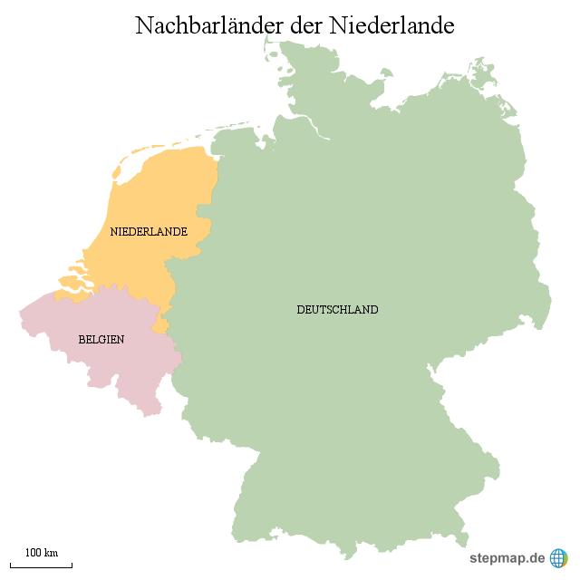 Niederlande Nachbarländer