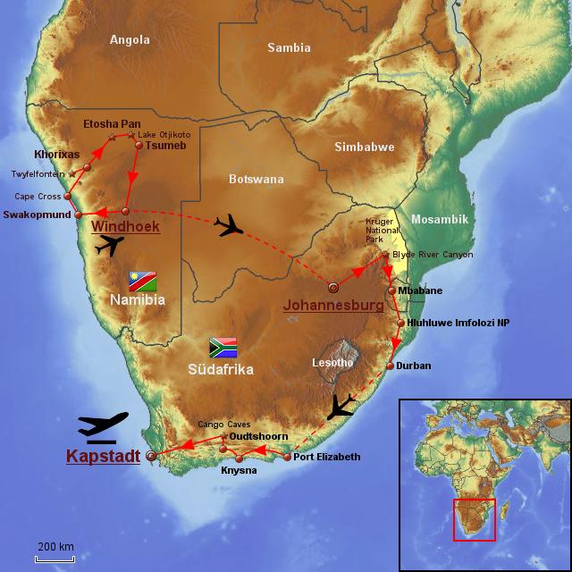 Namibia Südafrika