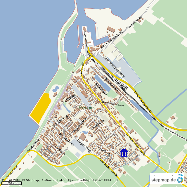 karte norddeich StepMap   Norddeich   Landkarte für Welt