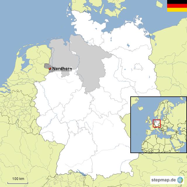 Stepmap Nordhorn Landkarte Fur Deutschland