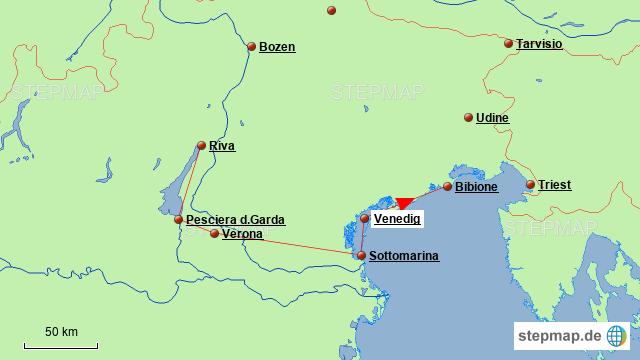 Norditalien Karte.Stepmap Norditalien Landkarte Fur Italien