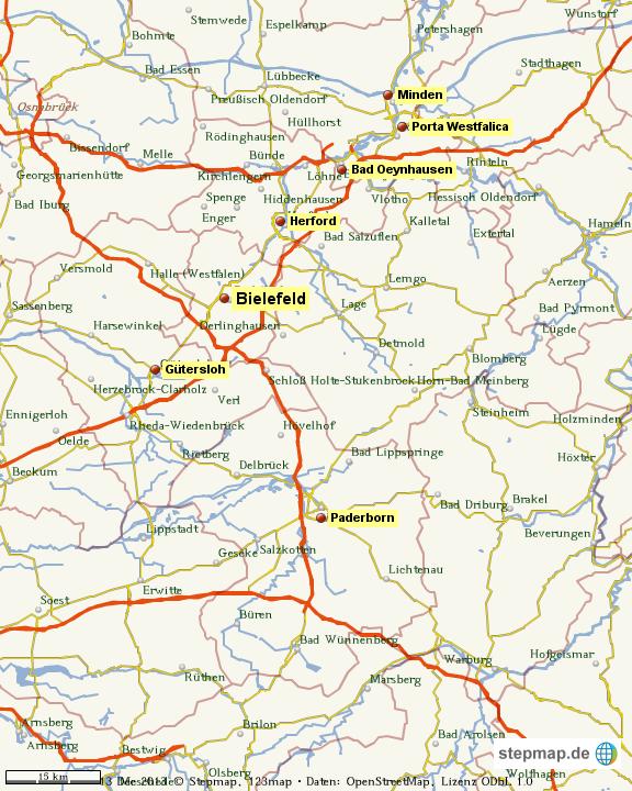 owl karte StepMap   OWL   Landkarte für Welt owl karte