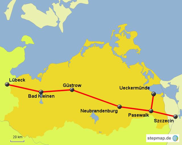 Güstrow Karte.Stepmap Owm Los Güstrow Landkarte Für Deutschland