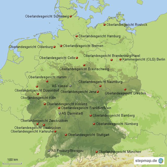 Oberlandesgerichte Bayern