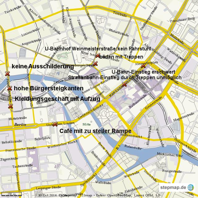 Berlin Mitte Karte.Stepmap Ortsteil Berlin Mitte Landkarte Für Welt