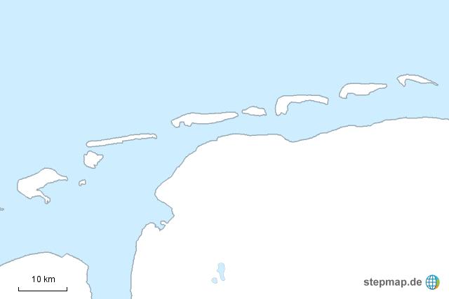 Ostfriesische Inseln Namen