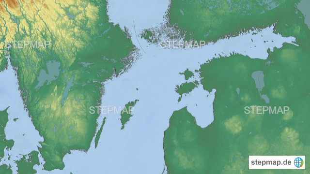 Karte Ostsee Deutschland.Stepmap Ostsee Ostteil Landkarte Für Deutschland