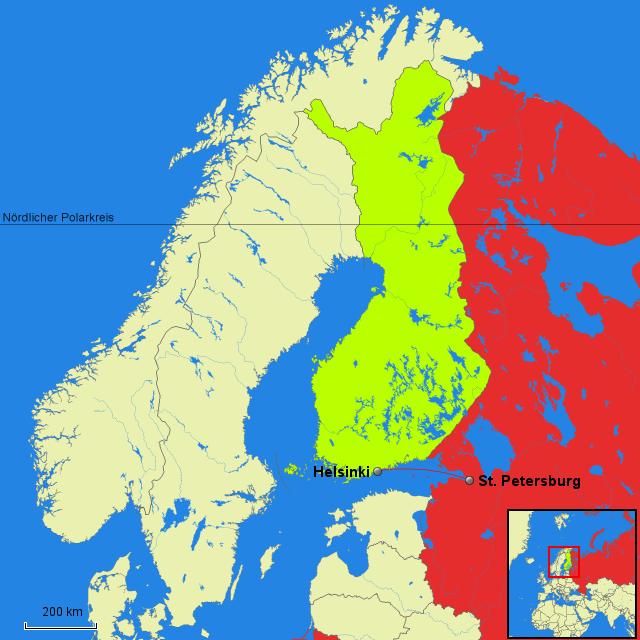 Finnland Russland