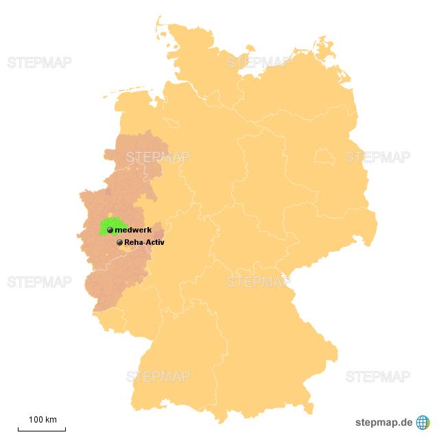 Karte Nrw Plz.Stepmap Plz Netzwerk Nrw Landkarte Fur Deutschland