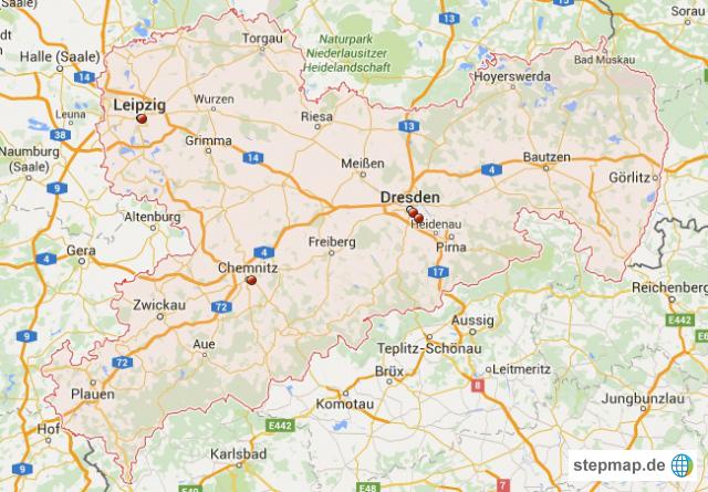 Stepmap Poco Standorte In Sachsen Landkarte Für Deutschland