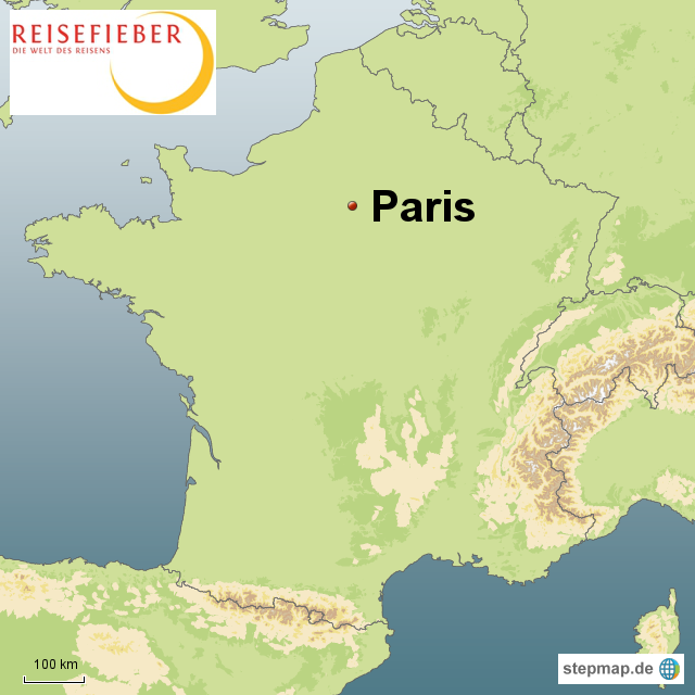 paris landkarte StepMap   Paris Sprachreise   Landkarte für Frankreich paris landkarte