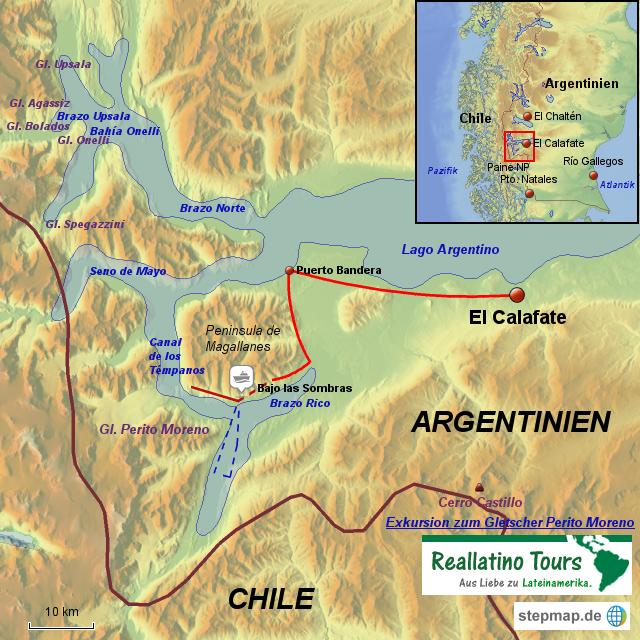 Glacier Tours In El Calafate