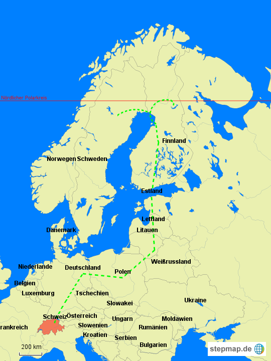 polarkreis karte StepMap   Polarkreis   Landkarte für Deutschland
