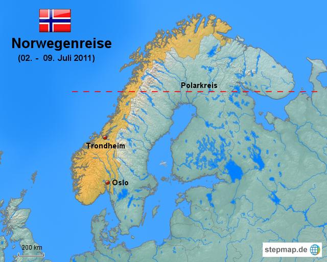 polarkreis karte StepMap   Polarkreis   Landkarte für Norwegen