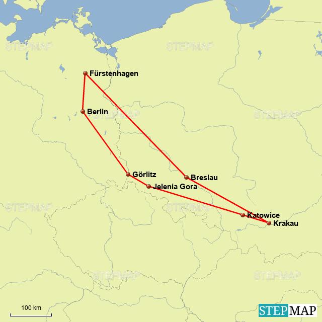 Polen Karte 2019.Stepmap Polen 2019 Landkarte Fur Polen