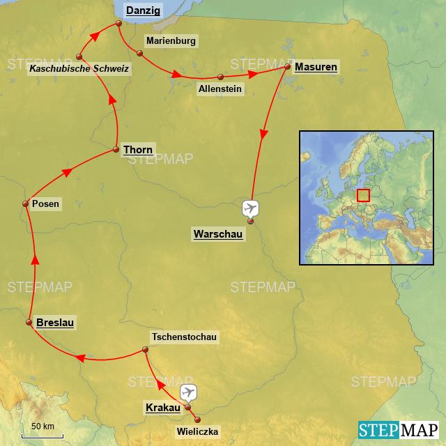 Polen Karte 2019.Stepmap Polen Der Unbekannte Nachbar 2019 Landkarte