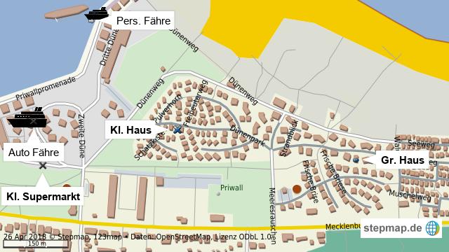 Priwall Karte.Stepmap Priwall 2k18 Landkarte Fur Welt