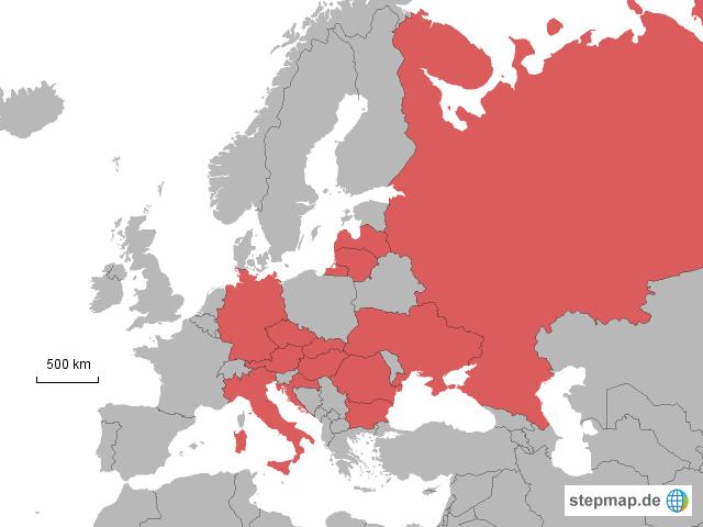 Rewe Karte.Stepmap Rewe Verbreitung Landkarte Für Deutschland