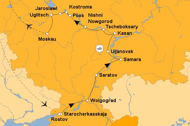 StepMap - RS-RO01 B - Landkarte für Asien