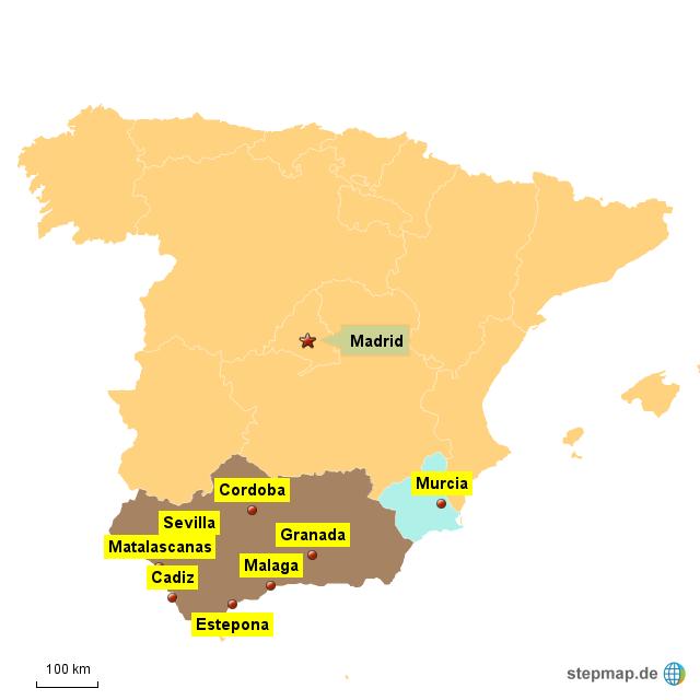 Süden Spanisch