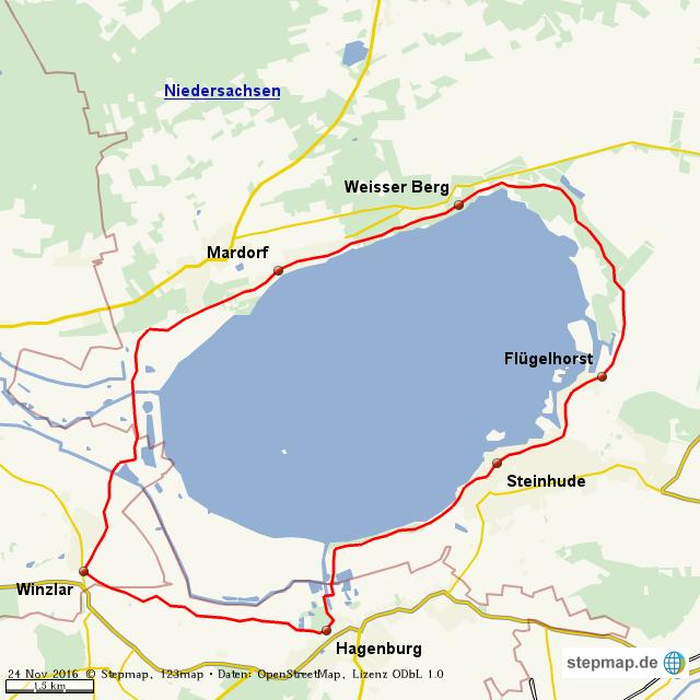 Steinhuder Meer Radweg