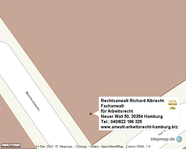 Stepmap Rechtsanwalt Und Fachanwalt Für Arbeitsrecht Richard