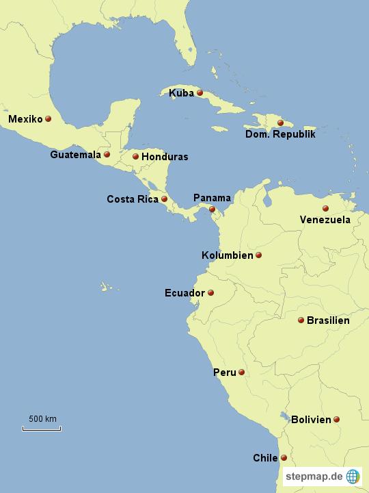 Inka Maya Azteken Karte