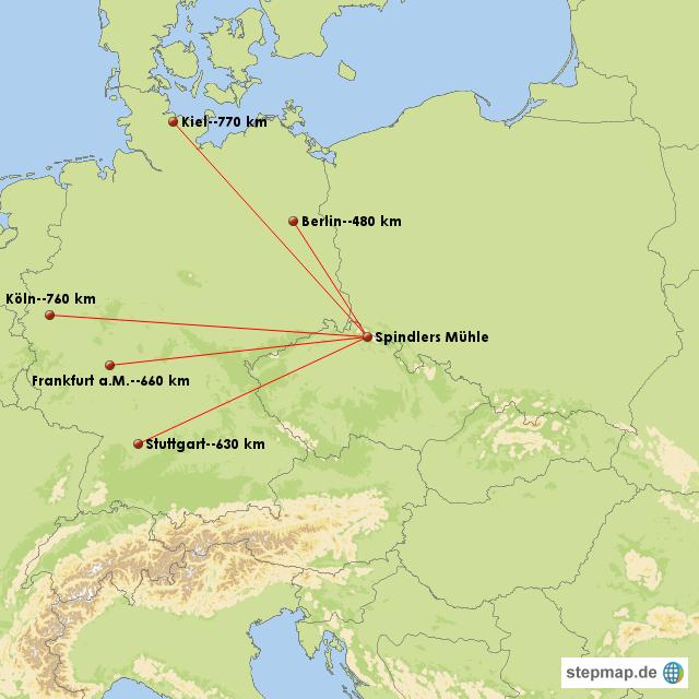 riesengebirge karte StepMap   Riesengebirge   Landkarte für Europa riesengebirge karte