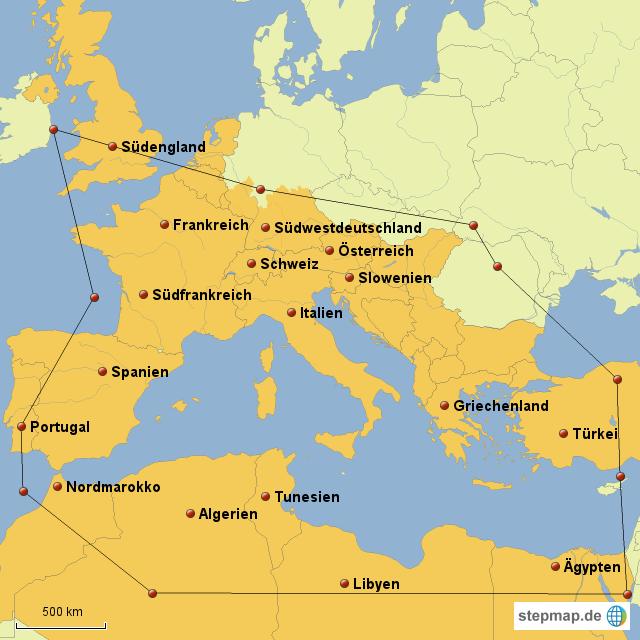 römisches reich karte StepMap   Römisches Reich heute   Landkarte für Deutschland