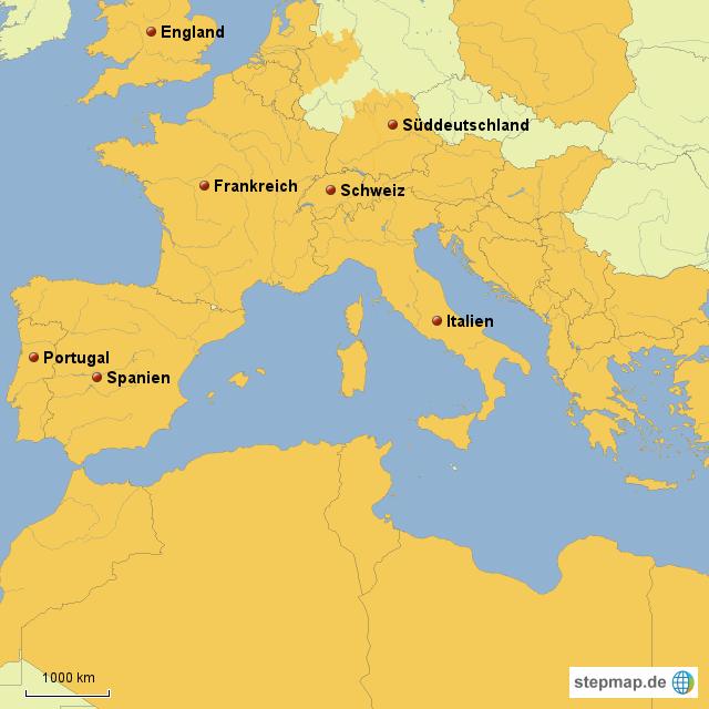 Römisches Reich Karte.Stepmap Römisches Reich Heute Landkarte Für Deutschland
