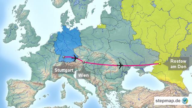 rostow am don karte StepMap   Rostow am Don   Landkarte für Europa rostow am don karte