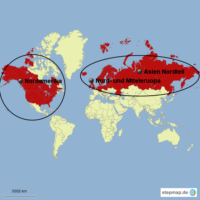 Stepmap Rote Waldameise Lebensraum Landkarte Fur Welt