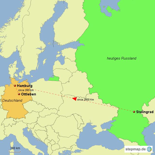 Stalingrad Karte Europa.Stepmap Rückkehr Von Stalingrad Landkarte Für Deutschland