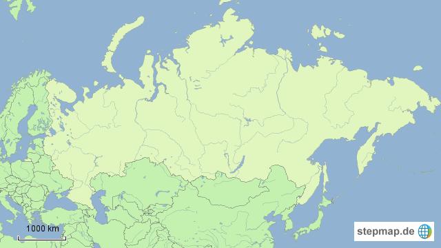 Karte Russland Asien.Stepmap Russland Landkarte Fur Asien